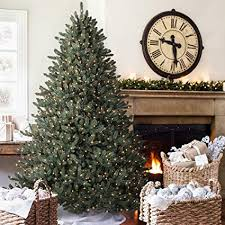Balsam Hill Classic Blue Spruce Artificial Christmas Tree 9 Feet Clear Lights