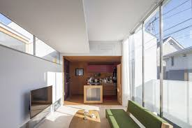 100 Japanese Small House Design A SplitLevel In Tokyo For A Young Couple
