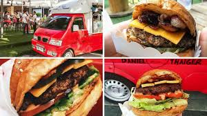 Food Truck Mania: An Extensive List Of Bangkok Food Trucks (Part 1 ... Mister Gee Burger Truck Imstillhungover With Titlejpg Kgn Burgers On Wheels Yamu Ninja Mini Sacramento Ca Burgerjunkiescom Once A Bank Margates Twostory Food Truck Ready To Serve The Ultimate Food Toronto Trucks Innout Stock Photo 27199668 Alamy Street Grill Burger Penang Hype Malaysia Vegan Shimmy Shack Will Launch Brick And Mortar Space Better Utah Utahs Finest Great In Makati Philippine Primer Radio Branding Vigor