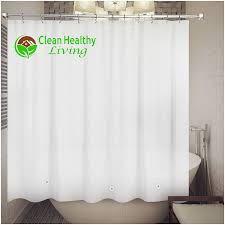 Amazon Curtains Living Room by Amazon Com Clean Healthy Living 70x71 Inch Peva Shower Curtain