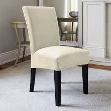 Slipcover Chairs Dining Room by Elegant Ivory Dining Chairs Which Will Change Your Home Look
