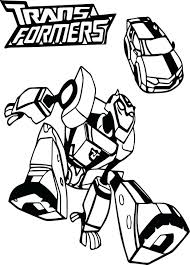 Transformer Coloring Pages Free To Print Angry Birds Transformers Pdf Bumblebee Car Page