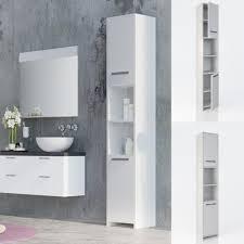 vicco badezimmerschrank kiko unterschrank waschbeckenunterschrank hochschrank badmöbel schrank midi schrank badregal
