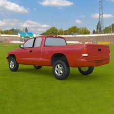 Dodge Dakota Ext Cab Pickup - 3ds And Obj - Extended License 3D Game ...