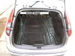 ford focus estate mk ii rubber boot mat liner options and bumper