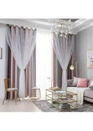 gardinen blickdicht gardinen wohnzimmer vorhang verdunkelung