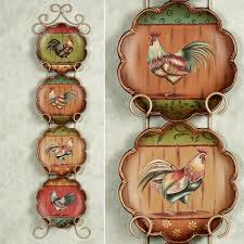 King Of The Barnyard Plate Set Multi Jewel Four