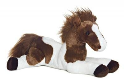 Aurora World Tola Horse Flopsie Plush Toy - 12""