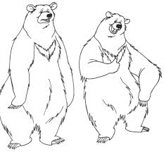 Nice Bears Coloring Pages 86