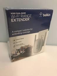 belkin n300 range extender setup belkin n300 dual band wireless n range extender ebay
