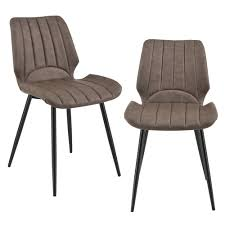 furniture 6x stühle dunkelbraun lehnstuhl esszimmer stuhl