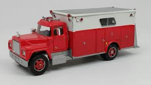 100 Rescue Truck Buffalo Road Imports Mack Rescue Truck LOS ANGELES FIRE RESCUE