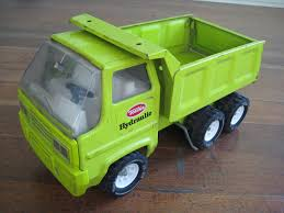 100 Tonka Metal Trucks Reserved For Meghan Vintage Green Toy Dump Truck