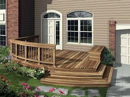 Deck Designing best 25 front deck ideas on pinterest decking ideas raised
