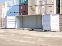 100 20 Foot Shipping Container For Sale Open Side S For BC Alberta West