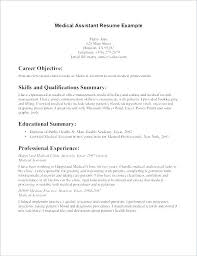 Sample Resume For Medical Assistants Cover Letter Rh Kidsafefilms Org Government Affairs Samples Behavioral Health Technician