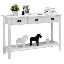 Pine Wood 4Drawers Desk WOO Design
