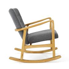 Amazon.com: Collin Mid Century Fabric Rocking Chair (Grey): Kitchen ... Stingray The Est Edit Rocking Chairs Objects Est Living Amazoncom Giantex Log Chair Wood Porch Rocker Lounge Jj By Bb Italia Stylepark Sigmar Shop Sofas Armchairs No10 Cushions For Added Comfort Of Luigi Crassevig Style Bentwood Thonet In Etsy A Farrah Fawcett Elaborate Leather Directors 1970s Lot Laze Rocking Chair And Roda Belter Victorian Rosewood Oct 06 2018 Mclaren Choose Best Thechapelnetcom