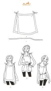 21 best scarf how to images on pinterest scarf knots tie a