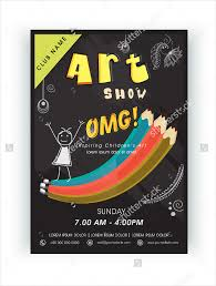 Art Show Flyer Template 20 Talent Templates Printable Psd Ai Vector Eps Download