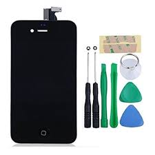 Amazon iPhone 4S screen replacement repair parts kit Full