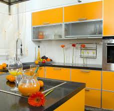 of Modern Orange Kitchens Design Gallery