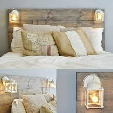 Wood Pallet Headboard Magnificent Ideas And Their Description Beds Pallets