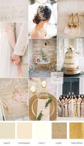 Coral Color Decorations For Wedding by Best 20 Champagne Wedding Colors Ideas On Pinterest Champagne