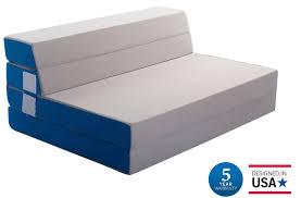 Foam Flip Chair Bed by Amazon Com Merax 4 Inch Folding Mattress And Sofa Adjustable