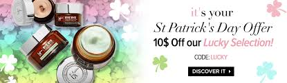 IT COSMETICS CANADA: Save $10 Off St. Patrick's Day Lucky ... Shop Kohls Cyber Week Sale Coupon Codes Cash And Up To 70 Off Scentsplit Promo Althea Code Enjoy 20 Off December 2019 45 Italic Boxyluxe Free Natasha Denona Gift 55 Value Support Will Slash Your Devinah Aila Cosmetics 1162 Photos 2 Reviews Hlthbeauty Birchbox Stacking Hack How Use One Coupon Code For Multiple Discounts In Apply A Discount Or Access Order Drugstore Com New City Color Cosmetics Contour Boxycharm 48 Value It Cosmetics