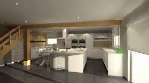 modele cuisines plans cuisines plan cuisine avec ilot central elevation
