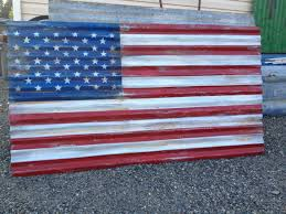 Description Beautifully Distressed 6 Ft American Flag