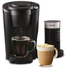 Keurig K Latte Single Serve Cup Coffee And Maker Comes With Milk Frother Compatible All Pods
