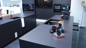 hummel küchenwerk küche schwarz matt