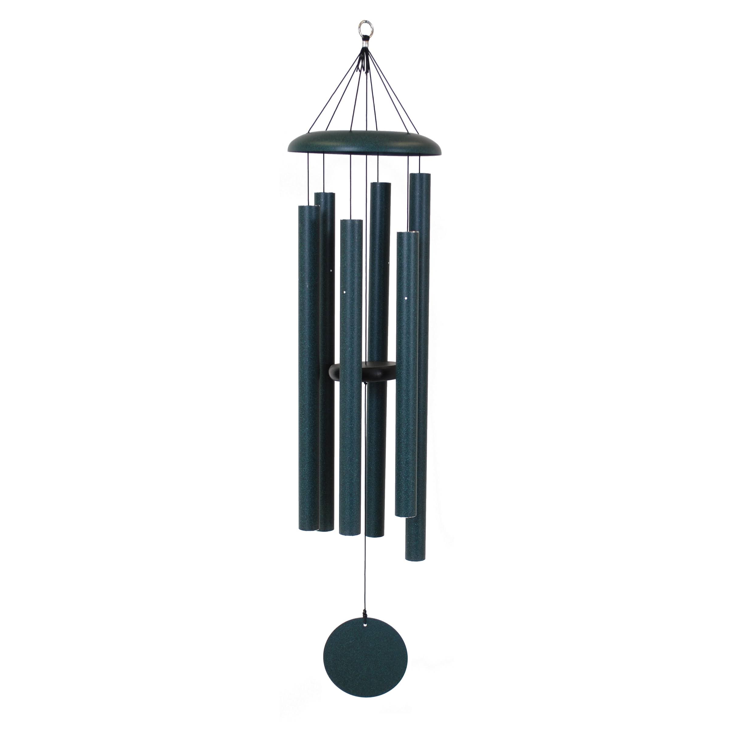 Corinthian Bells Wind Chime - Green, 50""
