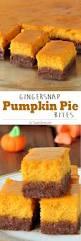 Gingersnap Pumpkin Pie Crust by Gingersnap Pumpkin Pie Bites Sugar Apron