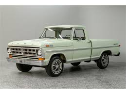 100 71 Ford Truck 19 F100 For Sale ClassicCarscom CC1149511