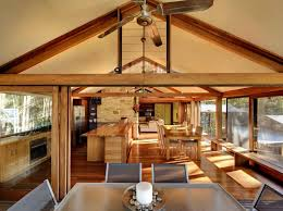 13 Treetops Home By Bruce Rickard Blends Rustic Elements With Modern Open Floor Plans Fashionable Design