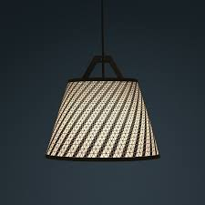 Laser Cut Lamp Shade by Laser Stitched Lampshades By Fifti Fifti Design Milk