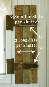 Remodelaholic | Build Rustic Barn Wood Shutters From Pallets Top 10 Interior Window Shutter 2017 Ward Log Homes Decorative Mirror With Sliding Barn Style Wood Rustic Shutters Best 25 Barnwood Doors Ideas On Pinterest Barn 2 Reclaimed 14 X 37 Whitewashed 5500 Via Rustic Gallery Wall Fixer Upper Door Modern Small Country Cottage With Wooden In The Kapandate Eifler Entry Gate Porter Remodelaholic Build From Pallets Rustic Wood Wall Decor Roselawnlutheran Flower Sign Xl Distressed