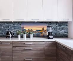 küchenrückwand 3d dresden grobe steinmauer nischenrückwand spritzschutz fliesenspiegel ersatz deko küche m0637