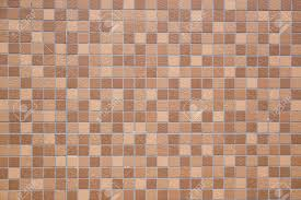 Brown Earthenware Floor Tile Seamless Background And Texture Stock Photo
