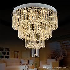 großhandel neue fernbedienung gu10 led 3 helligkeit kristall deckenleuchten kronleuchter pendelleuchten treppen lobby landhaus showroom wohnleuchten