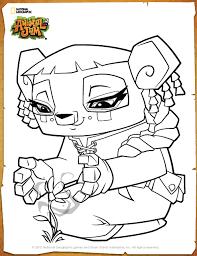 Printable Coloring Pages Animal Jam Image Liza Page Princess Smartypanda S
