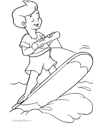 Free Printable Summer Coloring Book Pages