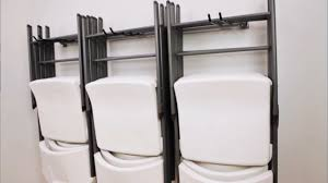 Folding Chair Carts Lifetime by Folding Chair Storage Modern Chairs Design