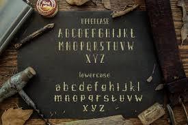 Airpena Rustic Display Font