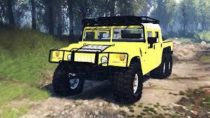 100 Hummer H1 Truck 6x6 Raptor V30 For Spin Tires