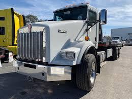 100 Kenworth Tow Truck 2019 T800 Tandem Axle Rollback Cummins X15 450HP