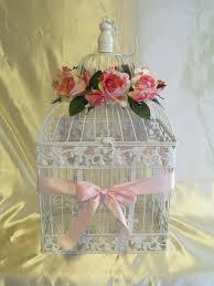 Shabby Chic Wedding Decor Pinterest by Birdcage Wedding Card Holder Wedding Card Box Glam Pink